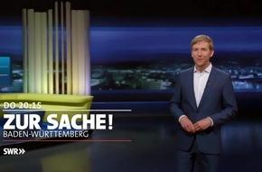 """Nahverkehrsabgabe: Winfried Hermann Gast in """"Zur Sache Baden-Württemberg"""", SWR Fernsehen"""