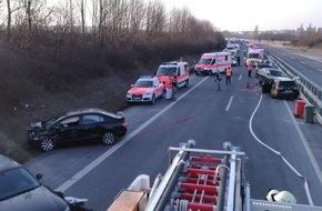 Unfall 5 Verletzte