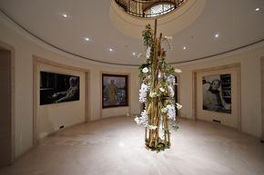 Florale Raumdekoration beim Bundespresseball 2015 - Foto: Yves Sucksdorff/Fleurop AG
