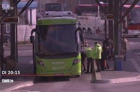 """Diebstahl leicht gemacht bei Fernbusreisen? """"Marktcheck"""", SWR Fernsehen"""