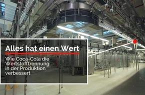Alles hat einen Wert!: Coca-Cola optimiert Wertstofftrennung