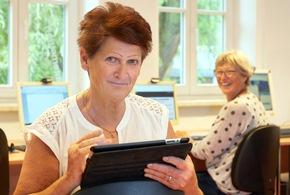 ?Botschafterin? Karin Lechner und ihr Projekt Senioren ans Netz / Foto: © VNG-Stiftung