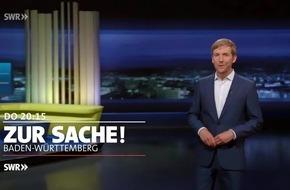 """Riskantes Aufstellen von Maibäumen - kommt Sicherheit zu kurz? """"Zur Sache Baden-Württemberg"""", SWR Fernsehen"""