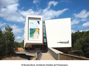 Hergé-Museum © Nicolas Borel - Architecte Christian de Portzamparc