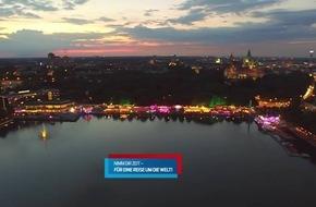 Nimm Dir Zeit für eine Reise um die Welt! Unter diesem Motto findet vom 2. bis 20. August 2017 das Maschseefest in Hannover statt