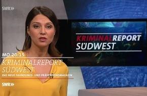 "Neues Fahndungsmagazin ""Kriminalreport Südwest"" mit aktuellen Fällen"