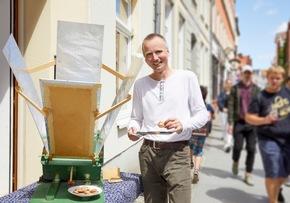 ?Botschafter? Tilman Langner engagiert sich für Umweltbildung in Stralsund / © VNG-Stiftung