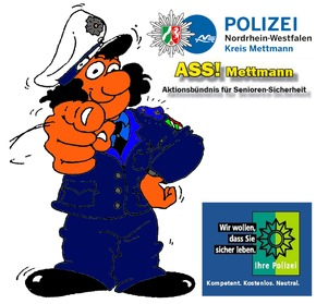 Symbolbild: ASS'e im Kreis Mettmann