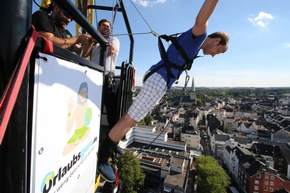 Gratis Bungee Jumping gibt's wieder beim Stadtfest Unna!