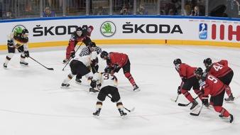 SKODA ist offizieller Partner des Eishockey-Turniers Deutschland Cup - KAROQ als VIP-Gast dabei