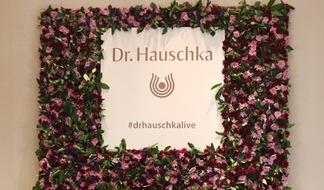Dr. Hauschka beim Medienboard-Empfang 2018