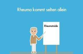 Welt-Rheuma-Tag 2018: Begleiterkrankungen bei Rheuma müssen gesehen und behandelt werden / Deutsche Rheuma-Liga veröffentlicht Aufklärungsfilm