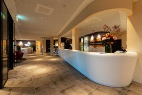 Der Eingangsbereich im a-ja City-Resort in Zürich (c)Christopher Tiess für a-ja Resort und Hotel GmbH