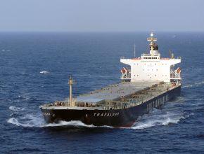 """Der britische Tanker """"Trafalgar"""""""