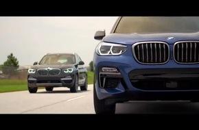 Der neue BMW X3.