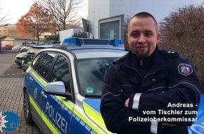 POL-EU: Vom Tischler zum Oberkommissar