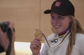 Tirol feiert Rad-Weltmeisterin Laura Stigger - VIDEO