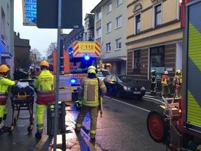 FW Ratingen: Kellerbrand in Ratingen Mitte