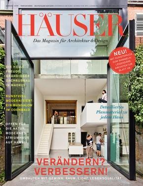 Gruner+Jahr, HÄUSER: Spektakuläre Häuser: Deutschlands Premium Architektur Magazin  HÄUSER