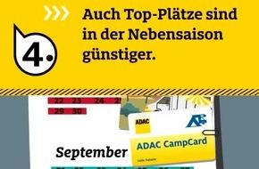 Preisvergleich ADAC Campingführer 2018: Deutschland, Schweden und Österreich am günstigsten / 5 Spar-Tipps für den Camping-Urlaub