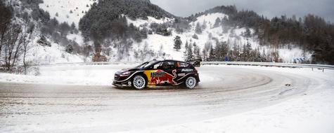 """Titelverteidiger Sébastien Ogier peilt bei der winterlichen WM-Rallye Schweden ein weiteres Topresultat mit dem Ford Fiesta WRC an. Weiterer Text über ots und www.presseportal.de/nr/6955 / Die Verwendung dieses Bildes ist für redaktionelle Zwecke honorarfrei. Veröffentlichung bitte unter Quellenangabe: """"obs/Ford-Werke GmbH/M-Sport Ford WRT"""""""