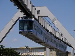 """Die Shonan Monorail im japanischen Kamakura mit ihrer Linie """"Blue Line"""", auf ihrer 6,6 Kilometer langen Strecke rund 10 Millionen Fahrgäste. Weiterer Text über ots und www.presseportal.de/nr/128710 / Die Verwendung dieses Bildes ist für redaktionelle Zwecke honorarfrei. Veröffentlichung bitte unter Quellenangabe: """"obs/WSW Wuppertaler Stadtwerke GmbH/Shonan Monorail"""""""
