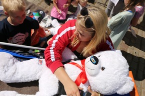 Erste Hilfe am Teddybären