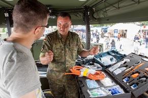 Besucherandrang beim Tag der Bundeswehr