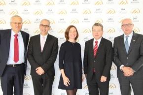 V.l.n.r.: Yves Deillon, Maxime Medina, Natacha Litzistorf, André Witschi, Michel Rochat