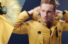 Tom Tailor präsentiert neue Herbst&Winter Imagekampagne / Umfassender Marketing-Mix beinhaltet neben vier TV-Spots auch OOH-Flight