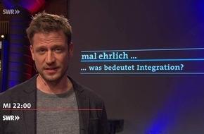 mal ehrlich ... was bedeutet Integration? / SWR Bürgertalk am 9.5., 22 Uhr, SWR Fernsehen / Nese Erikli (Grüne) und Sebastian Münzenmaier (AfD) diskutieren mit Florian Weber