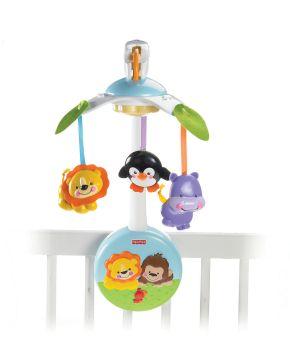 """Fisher-Price Mein erstes Wunderwelt Mobile - Das Fisher-Price Testprogramm zeigt, was Eltern rund um den Spielzeugkauf beschäftigt Die Verwendung dieses Bildes ist für redaktionelle Zwecke honorarfrei. Veröffentlichung bitte unter Quellenangabe: """"obs/Mattel GmbH"""""""