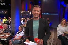 mal ehrlich ... bedeutet Hartz IV Armut? / SWR Bürgertalk am 6.6.2018, 22 Uhr, im SWR Fernsehen / Sven Teuber (SPD), Heidi Scharf (Die Linke) und Prof. Stefan Sell diskutieren