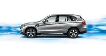 Der BMW X5 xDrive40e