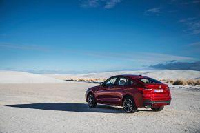 Starker Auftritt: der neue BMW X4