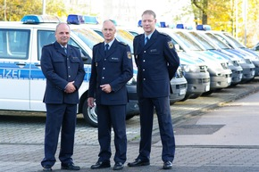Polizeidirektor Peltzer, Präsident Wurm, Polizeidirektor Scharfscheer