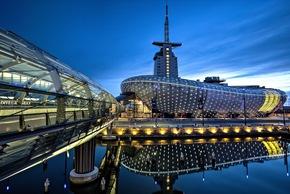 Das Klimahaus Bremerhaven begrüßt jährlich ca. 500.000 Besucher. Bildnachweis: Langer/Klimahaus