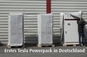 Tradition trifft Innovation: LichtBlick installiert Großbatterie Tesla Powerpack bei Schlüter & Maack