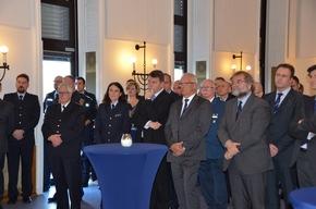 80 Gäste aus Politik, Wirtschaft und Behörden waren während der Amtseinführung zugegen.