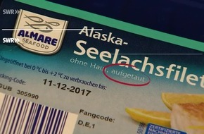 """Fisch aus der Kühltheke oft nur aufgetaut: """"Marktcheck"""", SWR Fernsehen"""