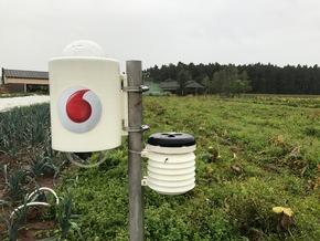 Vernetzt durch Vodafone funkt der Acker die Info direkt zum Landwirt.