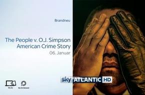 "Eine Sportlegende vor Gericht: Ryan Murphys preisgekrönte Dramaserie ""The People v. O.J. Simpson: American Crime Story"" exklusiv im Januar auf Sky"
