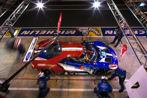 Ford Chip Ganassi Racing holt im Schlussspurt Rang zwei bei den 24 Stunden von Le Mans