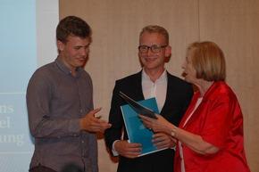2. Preis an Tillmann Knop (links) und Christian Mahler (rechts) Foto: Reiner, HSS