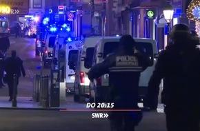"""Sicherheit auf Weihnachtsmärkten: Neuer Anschlag in Frankreich. """"Zur Sache Baden-Württemberg"""", SWR Fernsehen"""