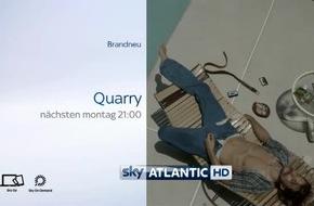 """Die brandneue Cinemax-Thrillerserie """"Deckname Quarry"""" ab kommenden Montag exklusiv auf Sky"""