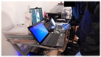 POL-PPKO: Internationale Durchsuchungen und Festnahmen gegen weltweit agierende Hacker sowie eine Vielzahl von Internetkriminellen