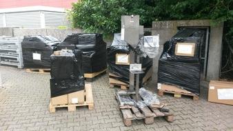 Abfülleinrichtung für Kartuschen in Dieburg sichergestellt