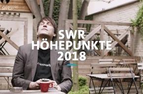 SWR 2018 mit multimedialen Programmschwerpunkten