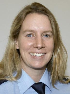 Polizeihauptkommissarin Saskia Pletsch von der Direktion Verkehr ist Sicherheitsberaterin für Heiligenhaus